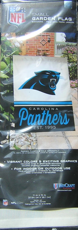 carolina panthers garden flag. Carolina Panthers Garden Flag 11×15 EXCLUSIVE
