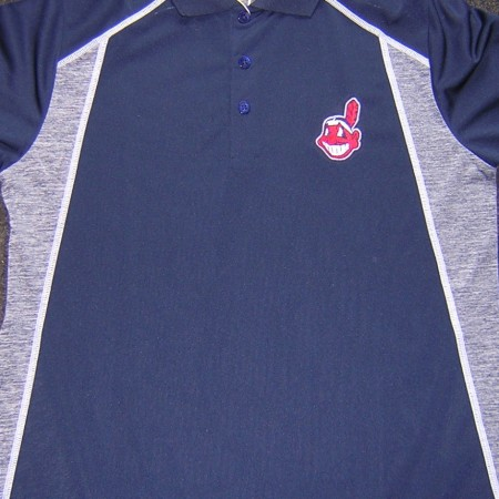 indians polo blue:gray