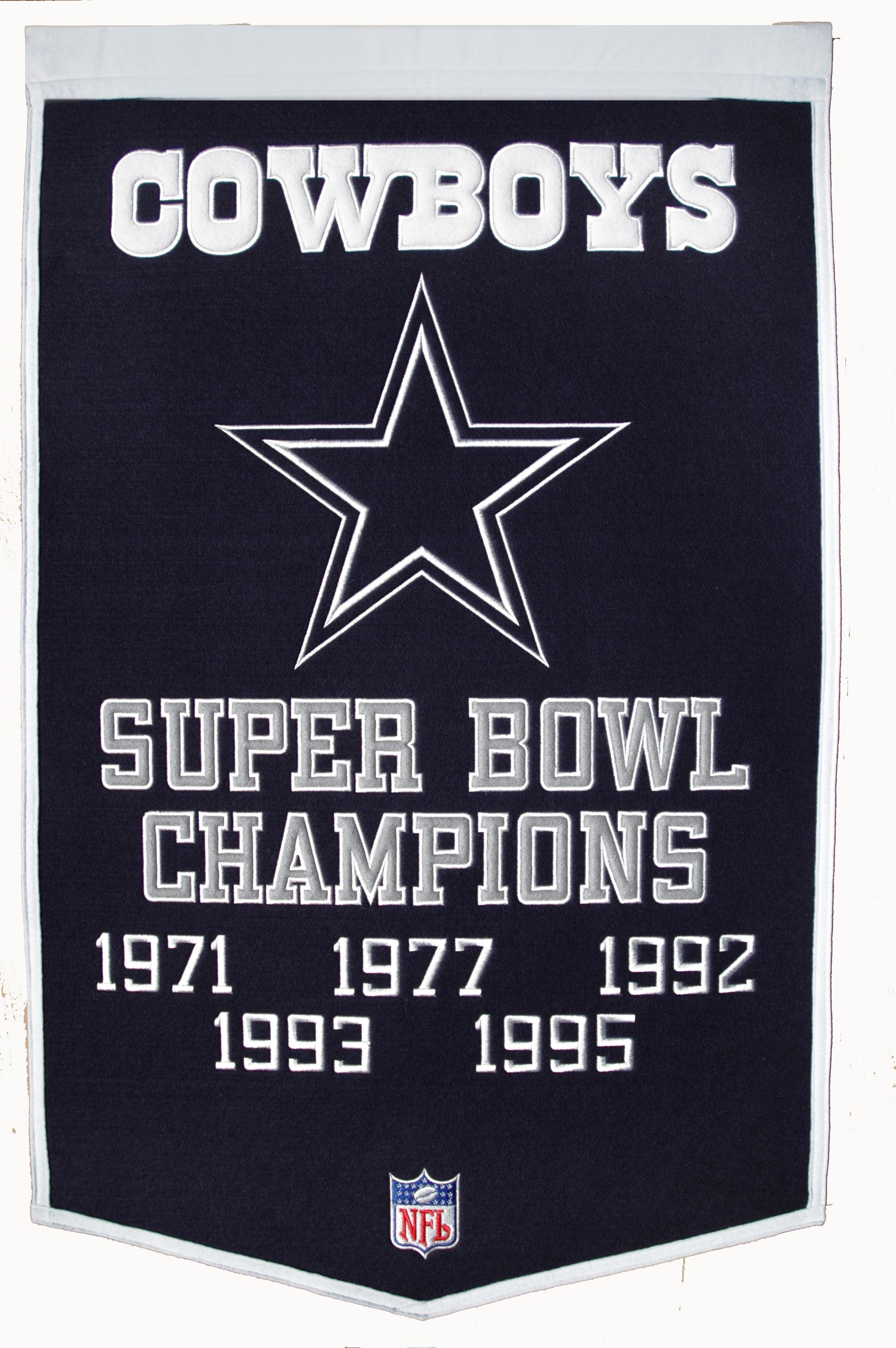 Dallas Cowboys Super Bowl Champs Banner – GPS Sports Gallery 43276afa3